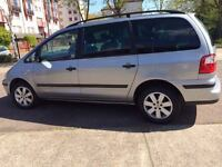 Ford Galaxy - 7 seater - new mot - service history - silver - people carrier
