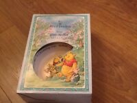 Royal doulton 2 piece winni poo christening set collectables