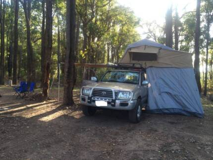 BRAND NEW Roof Top Tent 4x4 Offroad Camping FREE Annex
