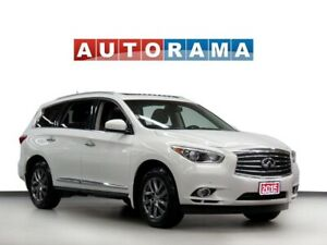 2015 Infiniti QX60 NAVI LEATHER SUNROOF AWD 7 PASSENGER BACKUP C