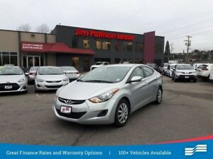 2013 Hyundai Elantra GL w/ heated seats, bluetooth and more
