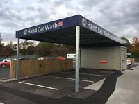 Hand Car Wash Valeting Business For Sale - 24 Hour Asda Car Park Location - Franchise Opportunity