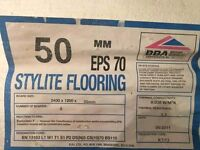 50 No 8' x 4' Stylite flooring EPS 70 50mm thick