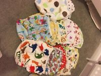 Reusable Cloth Nappies, Inserts & Liners