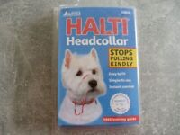 HALTI Headcollar size 0 used for 1 minute.