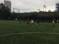 Friendly 5-a-side in Mile End. 5 players needed tomorrow !