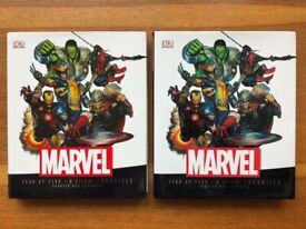 Marvel - Year By Year - A Visual Chronicle Hardback Book