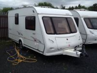 2006 elddis Trinidad 482/2 berth end changing room with fitted mover