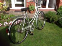 Vintage ladies bicycle bike