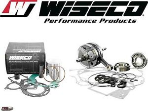 Wiseco Top & Bottom End Kawasaki KX65,Suzuki RM65 Engine Rebuild Kit Crankshaft
