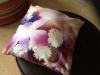 Pretty reversible flower print cushion from next needs uplifted