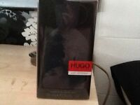 Bottle of hugo boss aftershave brand nrw unopened