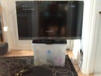 "Sony Bravia 40"" tv used but in vgc coulour black"