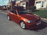 * NEW LOWERED PRICE* BMW 1 Series 2.0 120d SE 2dr Convertible. Rare Automatic Diesel.