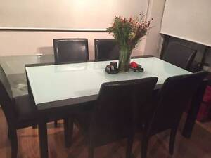 6 Seater Dining Room table and chairs Woollahra Eastern Suburbs Preview