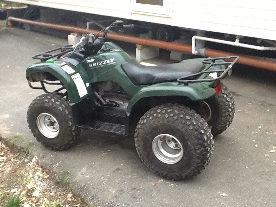 yamaha grizzly 125 quad bike in newquay cornwall gumtree. Black Bedroom Furniture Sets. Home Design Ideas