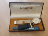 Longines 9ct Gold Plated 70s Vintage watch - (repair)