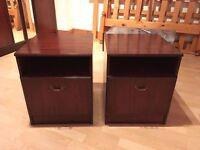 Mahogany Bedroom Tables