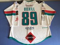 Belfast Giants Signed Game Worn Ice Hockey Jersey Shirt