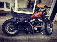 Harley sportster custom bobber chopper