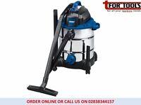 Draper 53006 30L 1400W 230V Wet/Dry Vacuum Cleaner Stainless Steel Tank
