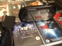 Psp street with games and case plus charger