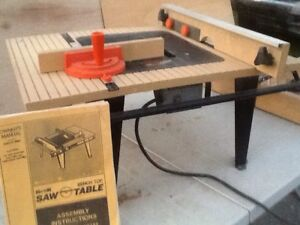 Bench Saw Table