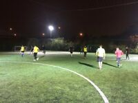 Casual 7-a-side Football in Beckton, East London. New players needed!