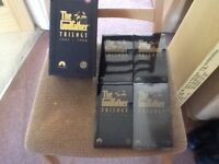 The Godfather trilogy VHS Cassettes 4 tapes