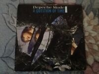 Depeche Mode vinyl single A Question of Time playtested