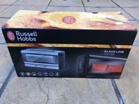 Russell Hobbs Glass Line Toaster New in box & Sealed