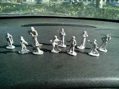 Star Wars Figurines, Lead Cantina Creature Figurines