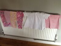 Girls aged 2-3 leggings bundle x4 and x2 tops