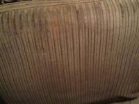 Dfs right corner sofa, brown