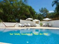 Private Holiday Villa with pool in Arillas, Corfu, Greece. Sleeps 6 + Baby.
