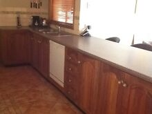 Blackwood timber second hand kitchen for sale West Wodonga Wodonga Area Preview