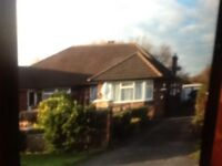 2bed bungalow with scope to extend
