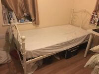 2nd hand single bed include mattress