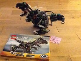 LEGO DINO CREATOR. NO 4958