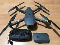DJI Mavic Pro - Drone + Remote + Spare Battery