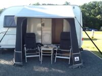 Quattro poach awning with extras good condition