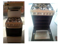 CANNON HIGH LEVEL GAS COOKER COMPLETE WITH GAS PIPE GOOD WORKING ORDER AND CLEAN CONDITION