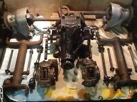 Jaguar XJ6 rear axle, kit car, cobra