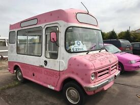 1978 Morrison CF Bedford - British Iconic Ice cream van