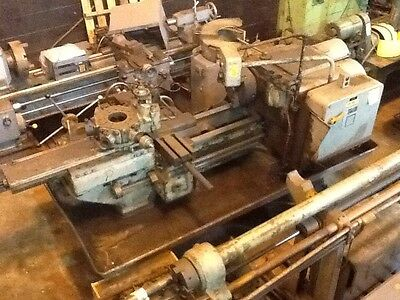 J L No. 5 Universal Turret Lathe Jones And Lamson