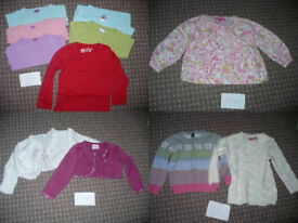 Bundle of 33 clothes for girl 3-4years/ 3-4 years. In new, very good and good condition.
