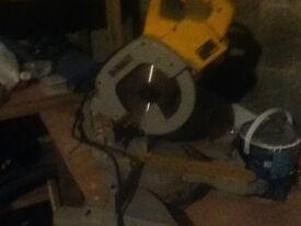 Dewalt sliding chop saw