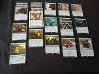 Magic the gathering green rares bundle