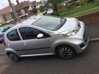 Peugeot 107 2009 1.0 petrol automatic 5 doors Millage 68234,MOT 05/2019,Tax 20 pound per years