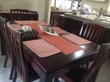 Solid timber dinning table Schofields Blacktown Area Preview
